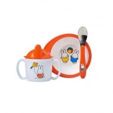 Mepal babyset Miffy spelar 3-delar