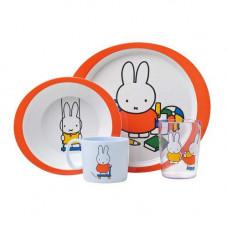 Mepal barnset Miffy spelar 4-delar